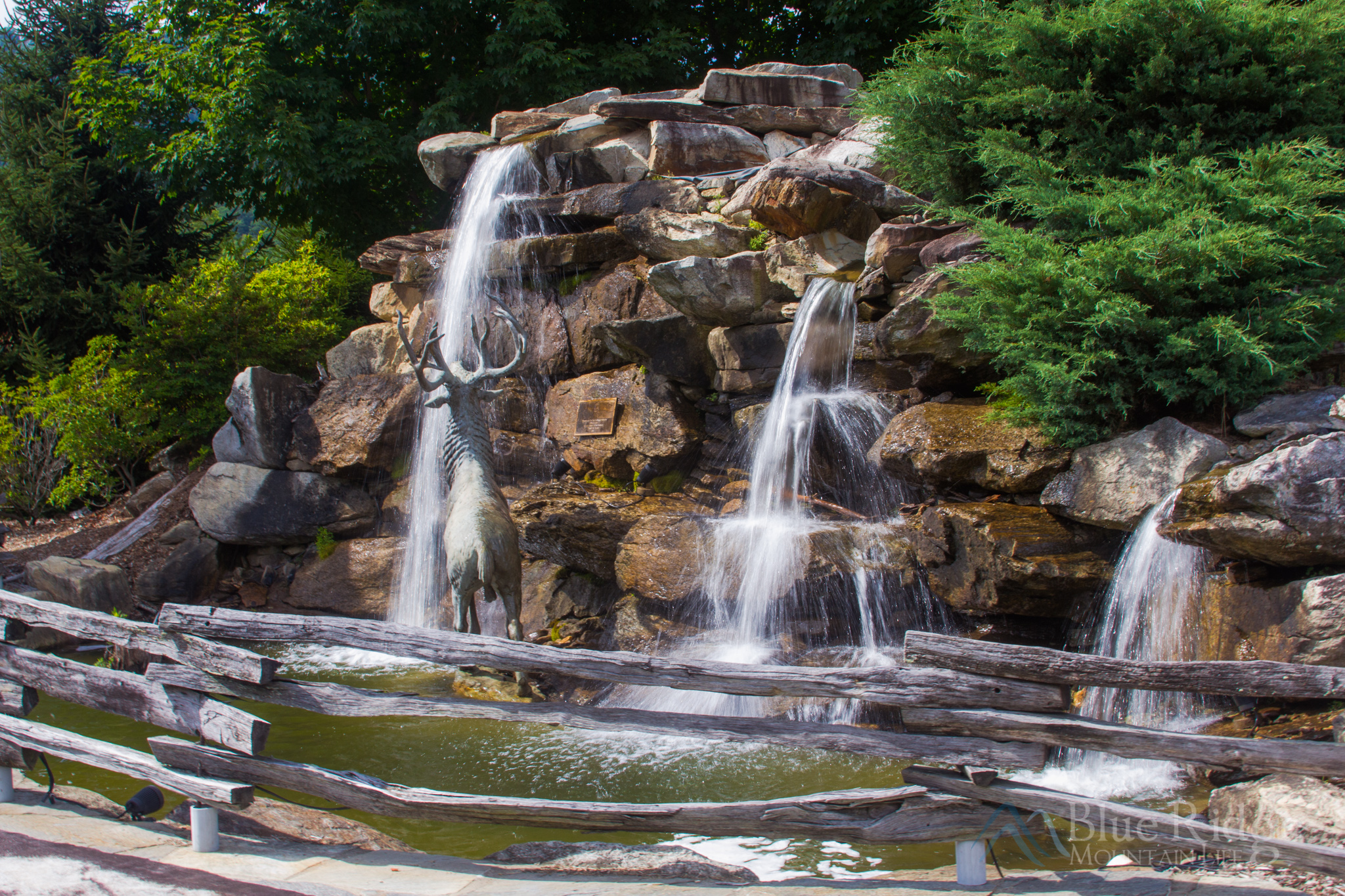 Maggie Valley NC Fountain